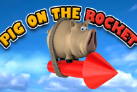 Pig On The Rocket -  Action Game